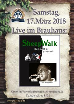 Retroparty mit Sheepwalk